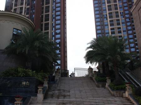 深圳大族河山实景图