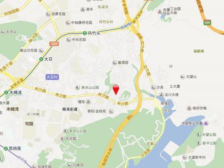 深圳大族河山交通图
