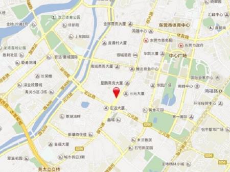 深圳万科珠江东岸交通图