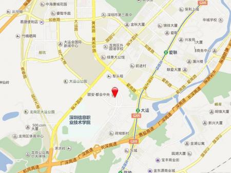 深圳颐安·都会中央2期交通图