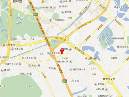 深圳保利中惠·悦城交通图