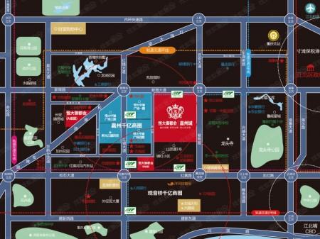 重庆恒大御都会交通图