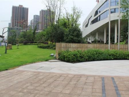 重庆两江春城实景图