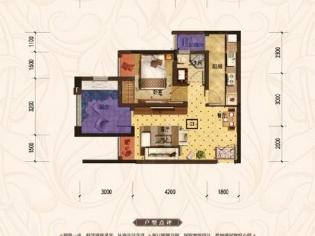 重庆首创城户型图