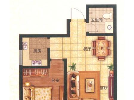 泰安王府花园户型图