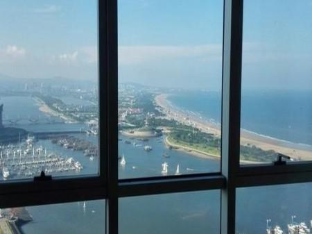 山海天海港城三房两厅海景房 月租3500元
