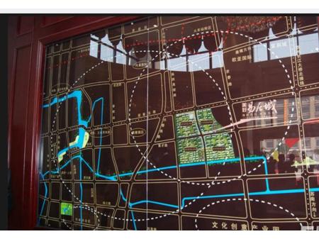 泰州美好易居城交通图