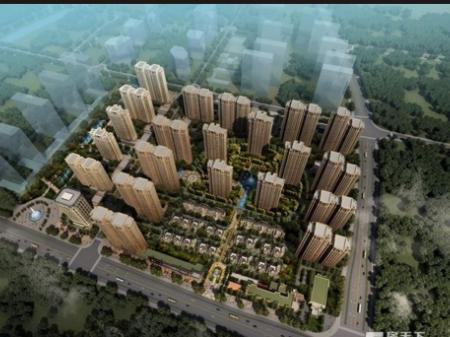 泰州绿地世纪城效果图