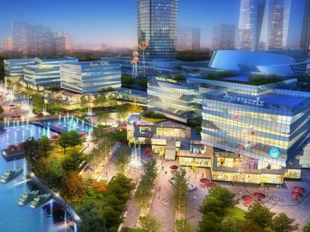 宁波城市之光广场