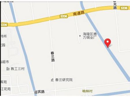 泰州七里香溪交通图