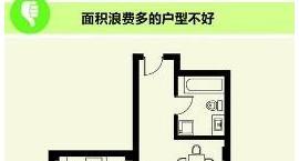 如果户型不好 房屋面积再大也是浪费
