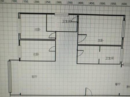 星河 3室2厅 122m² 可公积金贷款 70.5万