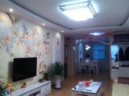 急售国力花园 3室2厅2卫 137㎡精装修带家具、地暖大红本 70万