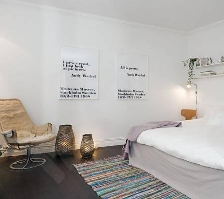 迷人的露台:北欧风格复式公寓设计