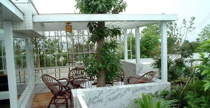 超高档住宅设计 阳台秒变空中花园