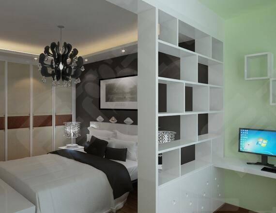 卧室隔断设计,一墙之隔而已