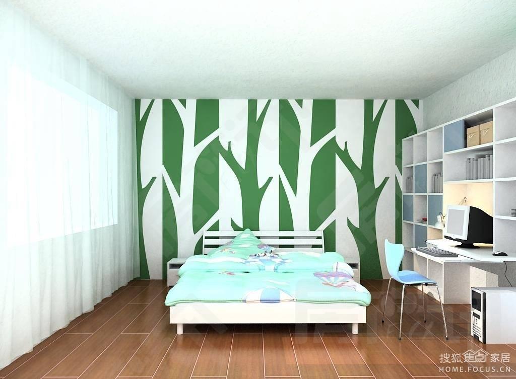 硅藻泥儿童房装修效果图集锦