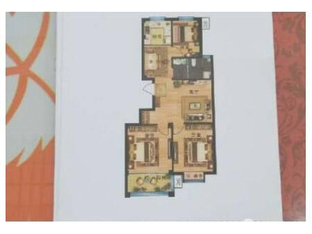 锦绣佳苑 3室2厅1卫 87平 3期多层电梯洋房