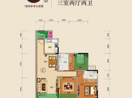 龙湾国际户型图