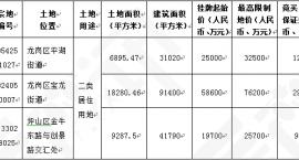 深圳首推只租不售住宅用地 其中一块5年不准卖