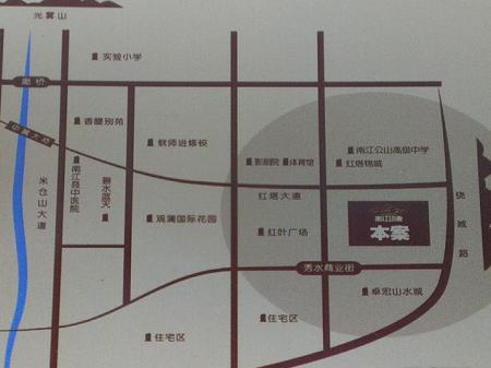 南江印象二期交通图