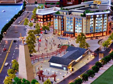致和时代休闲广场效果图