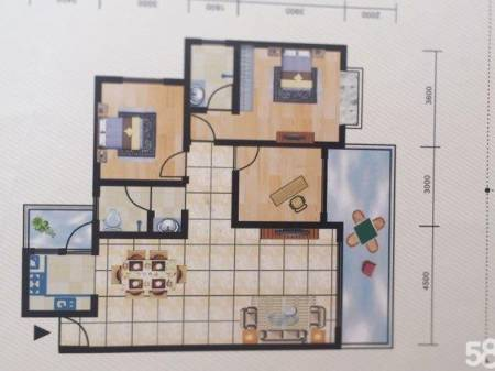 耒阳腾凤新城 3室2厅2卫 129平米