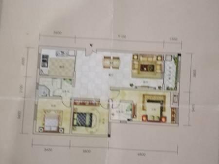 恩施广城金港3室2厅2卫136平毛坯房出售